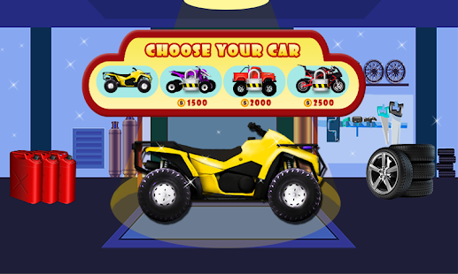 Quad Bike Wash And Repair Salon - Quad Bike Stunt - náhled