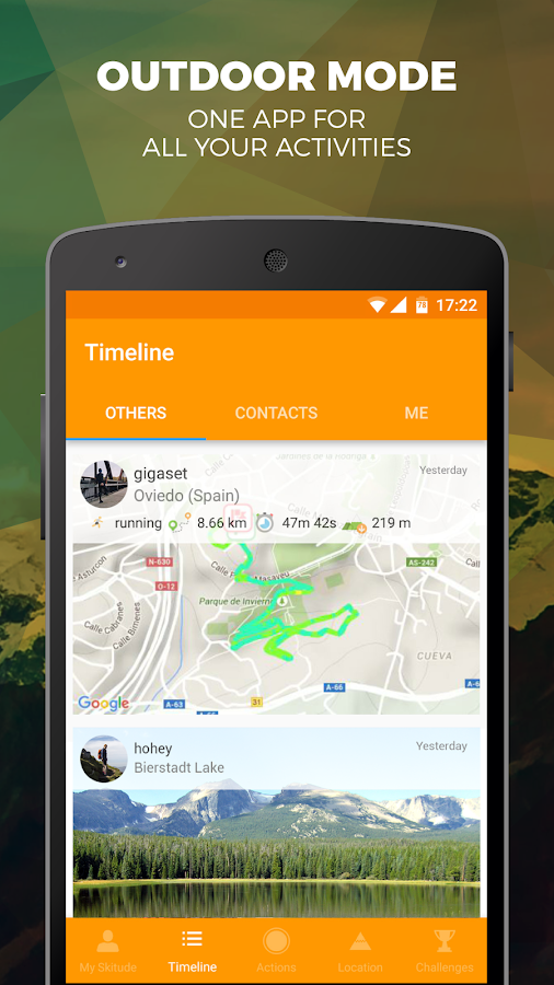 Skitude Ski & Outdoor Tracker- screenshot