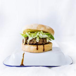Japanese-Style Hamburgers.