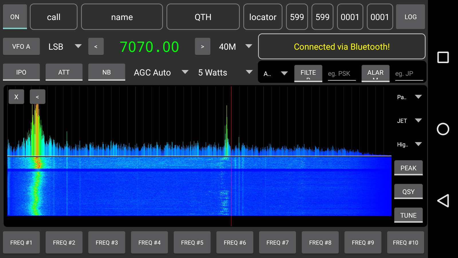 817 Companion for Ham Radio- screenshot