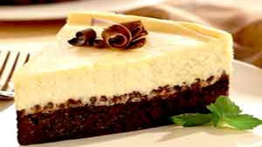 tarta cheescake y brownie.