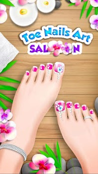 Princess Girl Toe Spa Salon