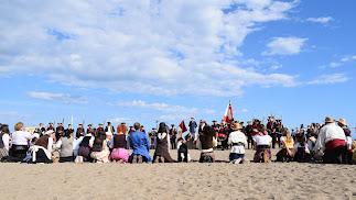 Desembarco Pirata en la playa de San José.