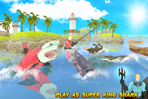 Multi Aqua Shark Hero Vs Sea Animals 1.2 screenshots 4