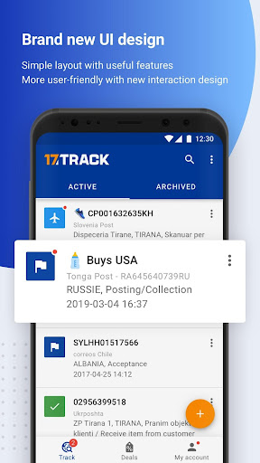 ALL-IN-ONE PACKAGE TRACKING Apk 1