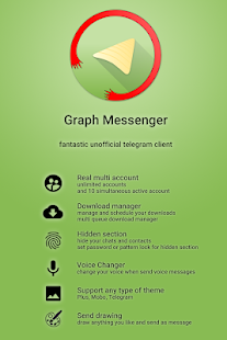 Graph Messenger Screenshot