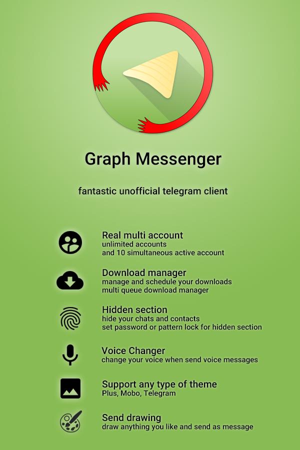 Telegraph Messenger vT6.2.0-P7.9 [Mod] APK [Latest]