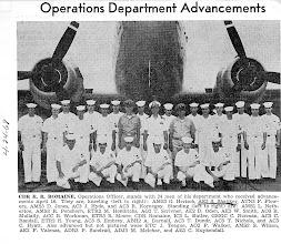 Photo: Operations Departments Advancements April, '68