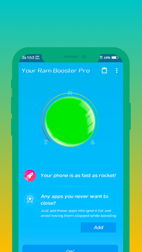 Screenshot for Your Ram Booster Pro in Hong Kong Play Store
