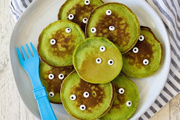 Healthy Halloween Monster Pancakes For Kids Ion Kitchen Ion Television