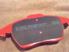 Photo: Red stuff brakes pads