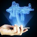 Голограмма 3D Оружие Симулятор icon