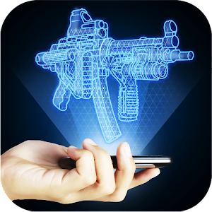 Hologram Weapon 3D Simulator for PC and MAC