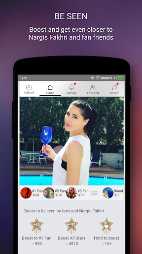 Nargis Fakhri Official App screenshot 1