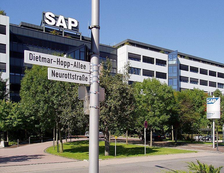 Les locaux SAP en Allemagne