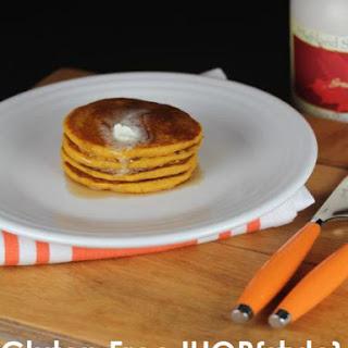 Gluten Free IHOP Pumpkin Pancakes
