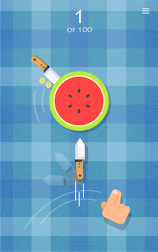 Knife vs Fruit: Just Shoot It