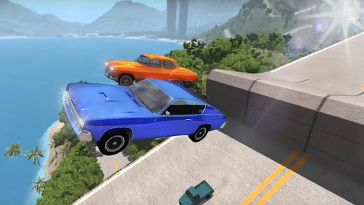 Chained Cars Against Ramp 3D apkmind screenshots 4