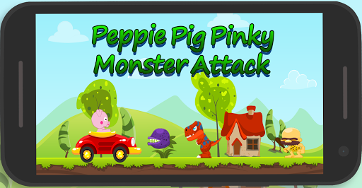 Peppie Pig Monster Escape