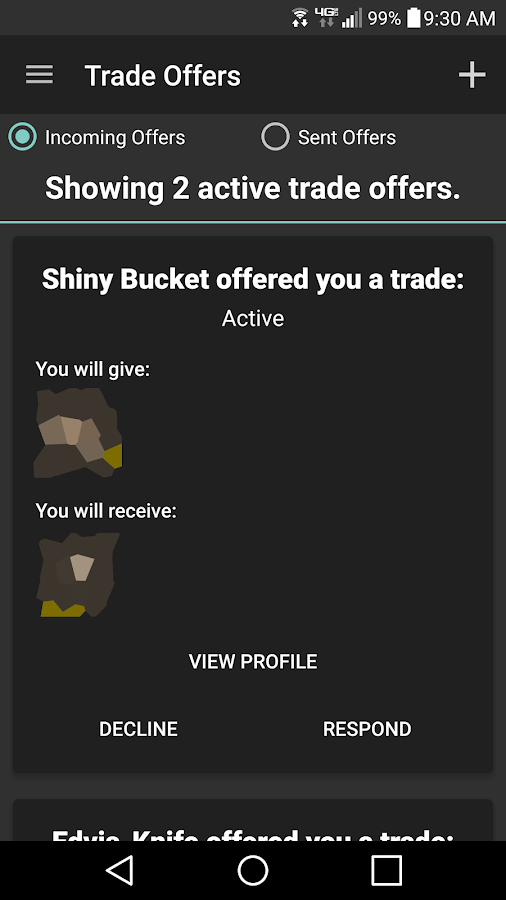 Ice Client : Steam™ Trading- screenshot
