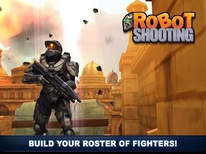 Robot Shooting War Games: Robots Battle Simulator 3