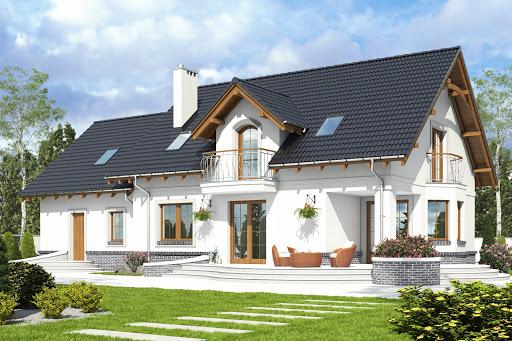projekt Dom Dla Ciebie 7 z garażem 2-st. A1