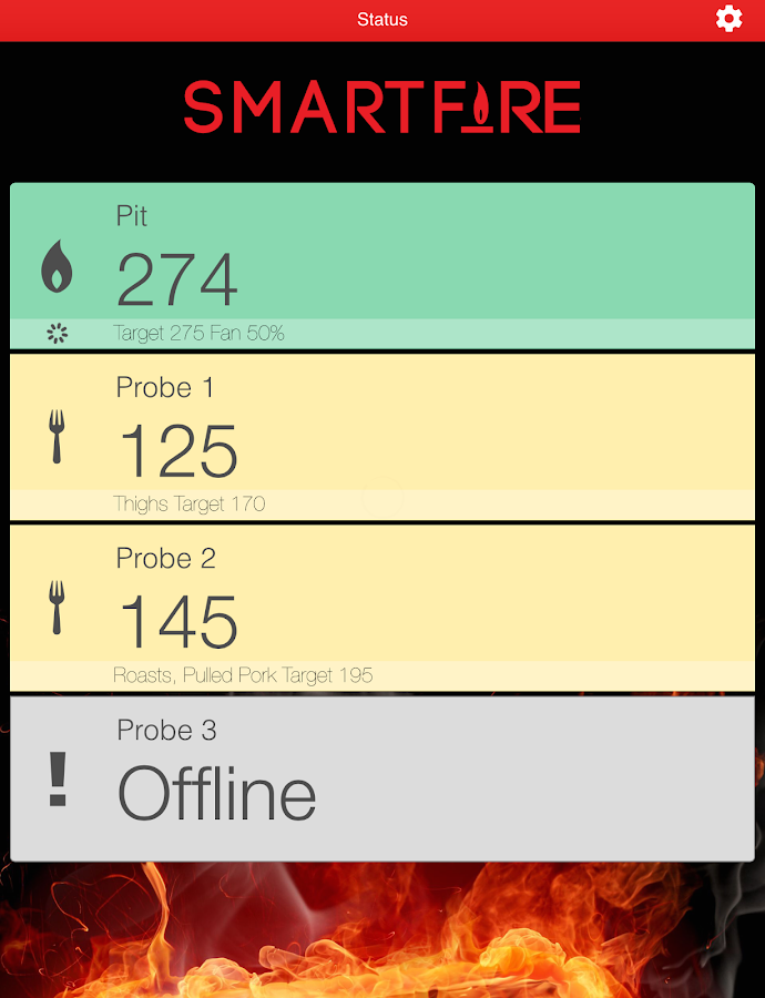 Smartfire- screenshot