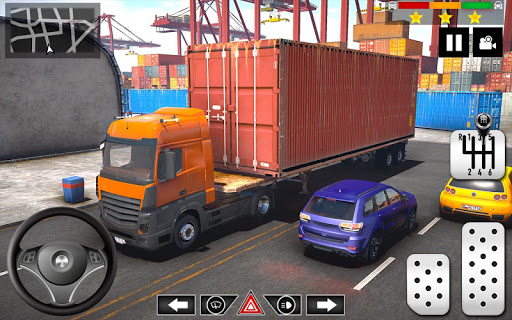 Cargo Delivery Truck Parking Simulator Games 2020 apkmr screenshots 6