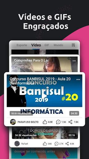 TopBuzz: Notu00edcia e diversu00e3o em um su00f3 app 10.4.2.02 Screenshots 4