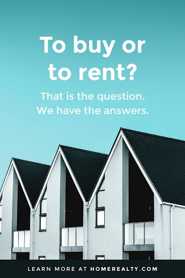 To Buy or To Rent - Pinterest Pin template