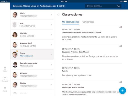 Versión de Séneca para smartphone y tabletas. screenshot 13