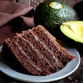 Chocolate Avocado Cake and Chocolate Buttercream