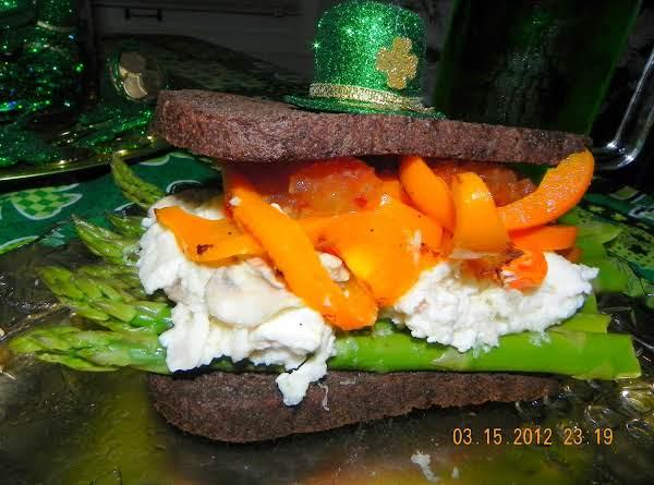 Irish Pride Flag Sandwich Recipe