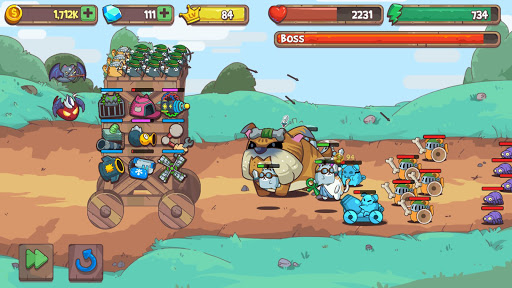 Cat'n'Robot: Idle Defense 1.0.0 {cheat|hack|gameplay|apk mod|resources generator} 2