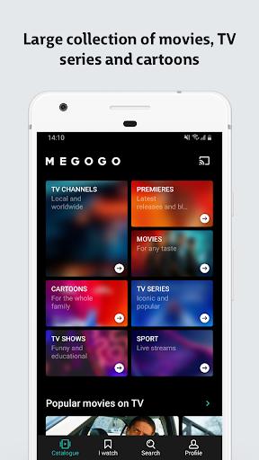 MEGOGO - TV and Movies screenshot 1