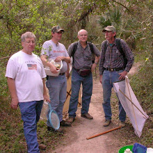 Photo: (l. to r.) Dan Heffern, Brian Raber, Bob Gemmill & Ed Riley at the Palm Grove.