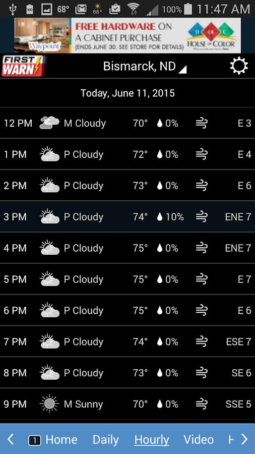 KFYR-TV Weather - screenshot