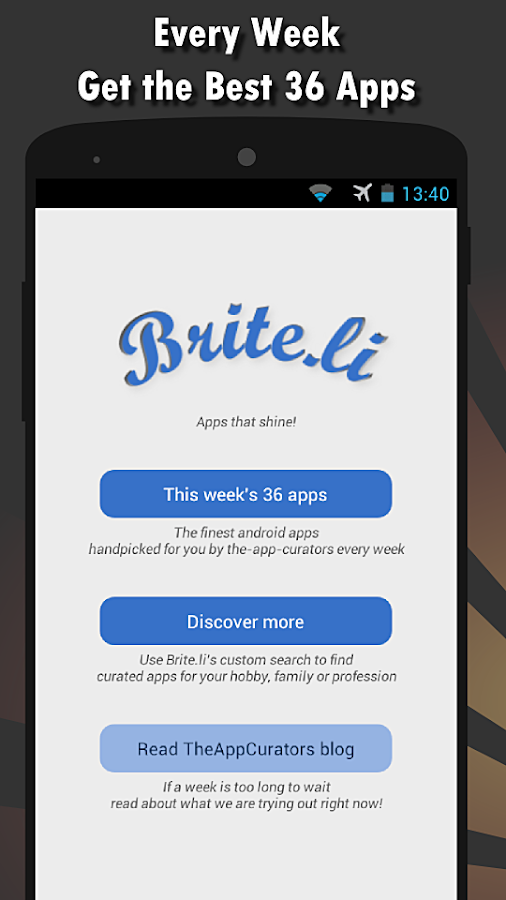 Briteli: App Discovery