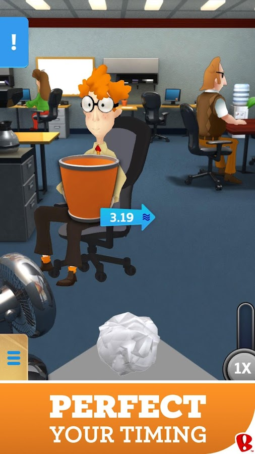 Paper Toss Boss- screenshot