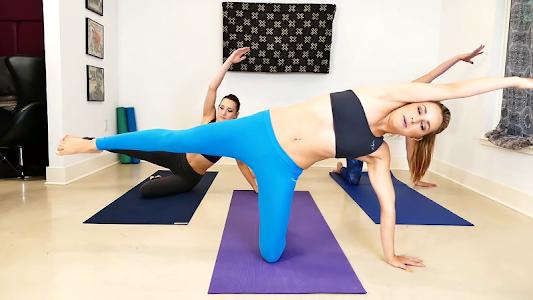 Yoga Weight Loss Challenge screenshot 1