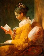 "Photo: Jean-Honoré Fragonard, ""La lettrice"" (1776)"