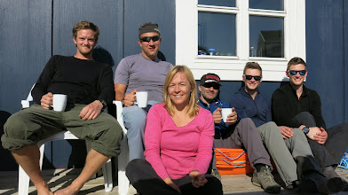 Photo: Frederik, Frode, Karin, Bengt, Josh and Zac