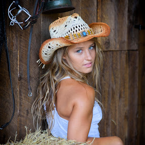 She's gone Country by Peter Miller - People Portraits of Women