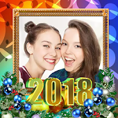 New Year 2018 Photo Frame _ New Year frame