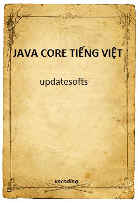 Sách Java core tiếng Việt