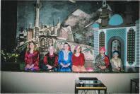 Photo: Serhad Tekin ja Erol Tekin (Turkki), Anastasia Smirnova (Kazahstan), Nataliya Zhandr (Venäjä), Heini Elsinen (Suomi), Ksenija Smirnova (Kazahstan)