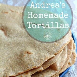 Andrea's Homemade Tortillas.