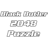 Black Butler 2048 Puzzle