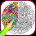 Mandala Adults Coloring Book icon