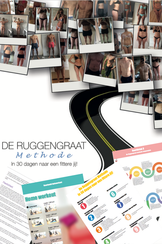 Ruggengraat Methode, in 30 dagen een fittere jij Gratis e-book